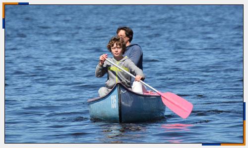 Boot Wandertour mit Kanadier auf See | Oberland Sports Murnau