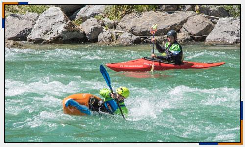 Wildwasser Kajak Paddler | Oberland Sports Murnau
